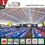 装飾が付いているボツワナの500人のための15X40mのテント
