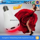 Neue Neuheit-Produkte für Birne Bluetooth Lautsprecher des Verkaufs-LED mit Soem-Firmenzeichen