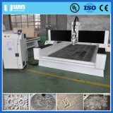 Pequeño 1325 Mármol CNC de madera del bloque de cristal grabado de la máquina de corte