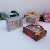 Crear el rectángulo de empaquetado del embalaje de la cartulina/el rectángulo de papel/el rectángulo de regalo para requisitos particulares de papel