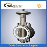Bronze Body Rubber Seat Wafer Butterfly Valve
