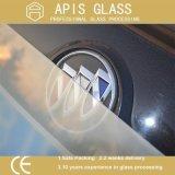 Vidrio helado impreso pantalla de seda semitransparente/translúcido