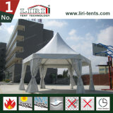 Struttura all'ingrosso della tenda di esagono del blocco per grafici per l'evento esterno dalla fabbrica