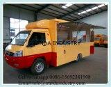 Cocina móvil que viaja con el móvil Van de 4 ruedas
