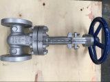 """Válvula de porta prolongada da haste do corpo de Lcb da baixa temperatura (DZ41H-300LB-2 """")"""