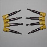 Carburo de tungsteno modificado para requisitos particulares 1 herramientas que muelen de una flauta para el aluminio