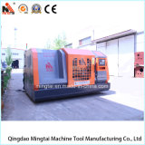 Torno auto profesional del CNC de la rueda de China con el blindaje lleno del metal (CK64100)