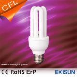 Lampade di risparmio di energia di alta qualità 3u 15W 18W 23W E27 CFL