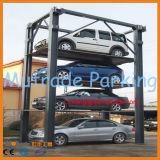 3つの4つの床のレベルの油圧駐車装置自動車のスタッカー