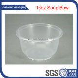 Шар супа печатание 16oz тавра устранимый пластичный