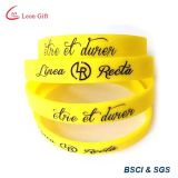 Fatory personalizou o Wristband do bracelete do silicone dos eventos do logotipo