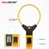Tester flessibile del morsetto di CA Digital di conteggi di Peakmeter Pm2019A 6000