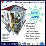 Casa modular prefabricada de la casa prefabricada barata del bajo costo