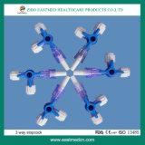 使い捨て可能な医学の製品の三方Stopcock/3方法Stopcock