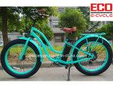 Bicicleta elétrica de Serise da bateria e da praia de lítio