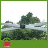 3X3mの鉄骨フレームは畳むテントをぽんと鳴らす