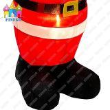 Im Freien LED helles Weihnachten aufblasbarer Weihnachtsmann des Innenpartei-Prahler-Haus-
