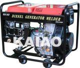 De stille Generator Voor dubbel gebruik van de Lasser (KDE6500EW/TW)