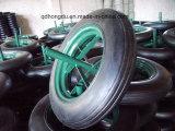 """rotella di gomma solida 14 """" X4 '' per la riga della barra di rotella Wb6400"""