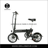 Wellsmove 14 인치 Foldable E 자전거 250W 30-50kms