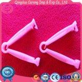 医学の使い捨て可能なプラスチック臍の緒クランプ