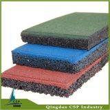 Materieller Gummi-Gummimattenstoff der Gymnastik-500X500X20mm