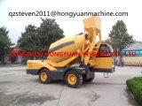 Hongyuan Marken-selbstladender Betonmischer mit 4m3, Motor 95kw