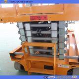 levage industriel de levage de plate-forme de ciseaux hydrauliques verticaux de la capacité 300kg