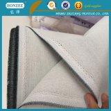Protezione rigida tessuta che scrive tra riga e riga