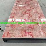 Feuille décorative de marbre artificielle de PVC faisant des machines