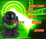 Pista móvil profesional de la viga 350W 17r 15r de Sharpy de la iluminación de la etapa