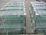 3、4、5、6、8、10、12、15の19mm高いQualilyの明確なフロートガラス