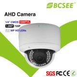 """1/4 """" di macchina fotografica Vandalproof del CCTV della cupola di CMOS 1.0MP 720p HD Ahd IR"""