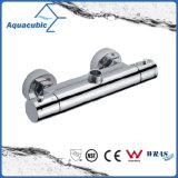 Chromed латунь ливня ванной комнаты Анти--Ошпаривает термостатический кран (AF4112-7)