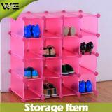 Salão Moderno Organizador de sapato de plástico Display Storage Cabinet