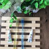 4~5star de Transparante Plastic Tandenborstel van uitstekende kwaliteit van het Handvat voor Hotel