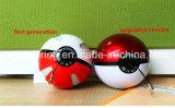 1000mAh Pokemon vão esfera de Pikachu do banco da potência do carregador da esfera