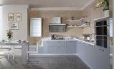 Gabinetes de cozinha modernos com a porta acrílica do MDF do lustro (zv-015)