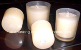 ガラス蝋燭ホールダー/蝋燭の瓶/ガラスコップ(SS1337)