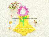 Maillot de bain de la mode de petite fille de fleurs