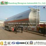 50cbmこんにちはQ Aluminum Fule Tank Semi Trailer Shengrun Auto Liangshan
