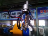 Corte del tubo del plasma del CNC y soldadora