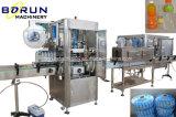 Máquina de etiquetas de alta velocidade do Shrink para os frascos de vidro