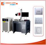 Máquina UV do gravador da máquina de gravura do laser da elevada precisão