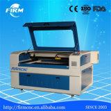 Máquina acrílica de madeira do laser do CO2 do CNC da estaca da gravura do MDF do papel de couro