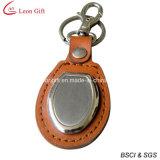Les trousseaux de clés en cuir faits sur commande vendent en gros (LM1528)