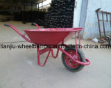 Carrinho de mão de roda do Sell da massa de Wb6200-1 Indonésia feito em China