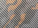 Tessuto impermeabile rivestito 100% del poliestere TPU per il vestito di pattino/giù i rivestimenti/l'usura esterna
