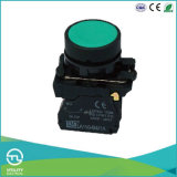Interruttore a pulsante Xb4 di Schioccare-Azione rotonda di plastica di Utl