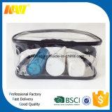 明確なPVC防水洗面用品袋